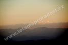 Pohled na Tatry z 1500m